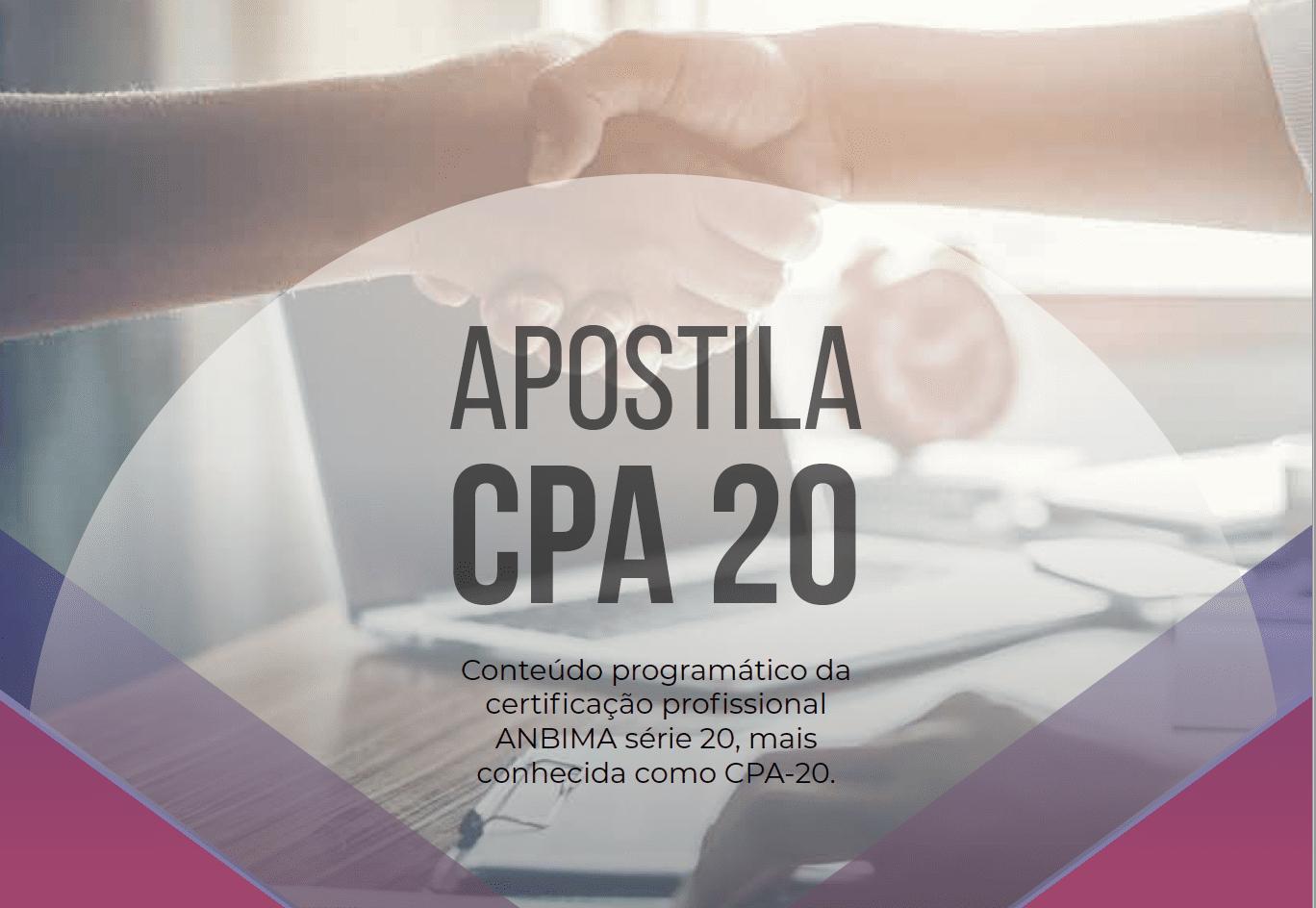 Apostila CPA 20 - Completa e Gratuita da TopInvest Educação Financeira