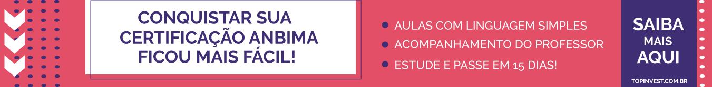 Curso online para Certificação CPA20