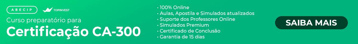 Curso online para certificação Abecip CA-300