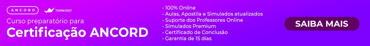 Curso online Preparatório para Ancord AAI