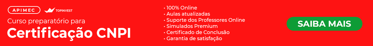 Curso Preparatório para Certificação CNPI da Apimec